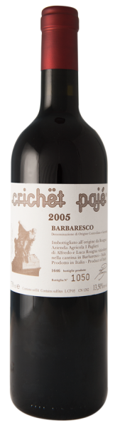 Barbaresco CRICHET Pajé